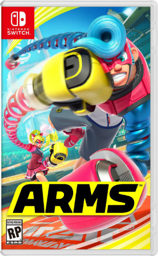 Jaquette arms switch