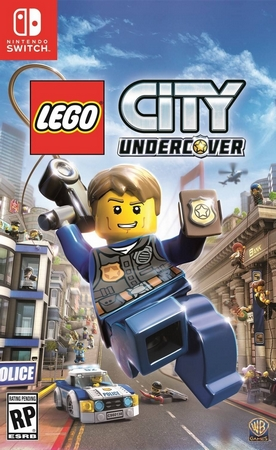 Jaquette lego city undercover switch 1