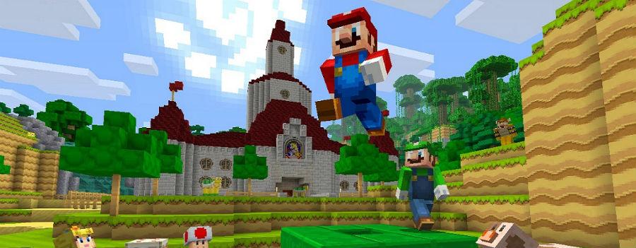 Minecraft super mario 2