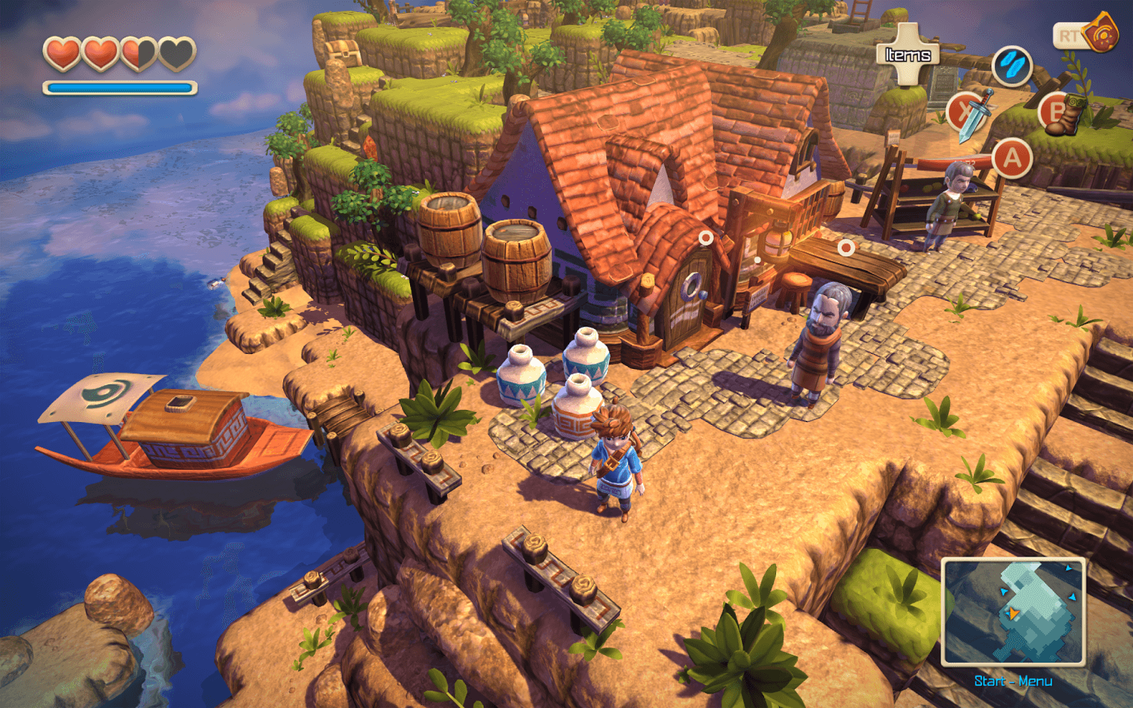 Oceanhorn screenshot 1