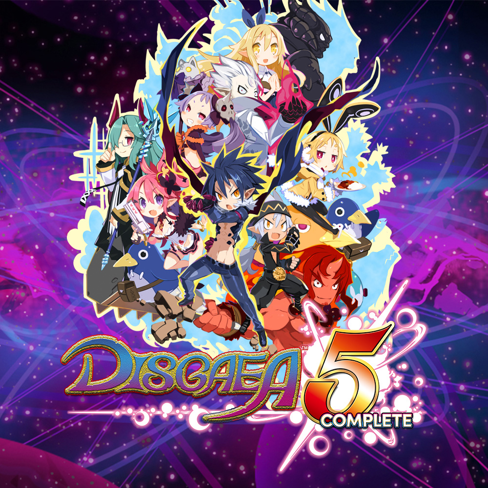 Sq nswitch disgaea5complete