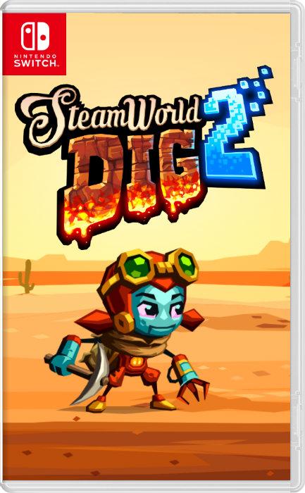 Steamworld dig 2 jaquette
